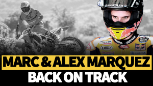 VIDEO: Marquez bros first motorbike laps since lockdown