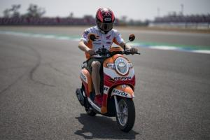 Marquez digs into Honda's World Superbike data for Thailand debut