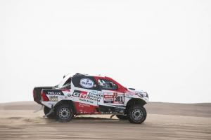 Al-Attiyah closes in on Dakar Rally victory as Loeb hits trouble