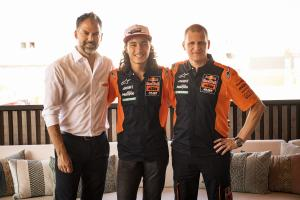 Can Oncu secures Moto3 graduation with Red Bull KTM Ajo