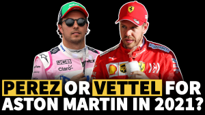 Perez or Vettel for Aston Martin in F1 2021?