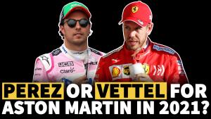 Perez or Vettel for Aston Martin in F1 2021?