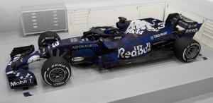 Aston Martin Red Bull reveals RB14 F1 car