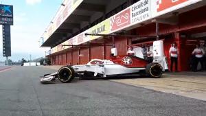 Toro Rosso, Sauber run track debuts for F1 2018 cars