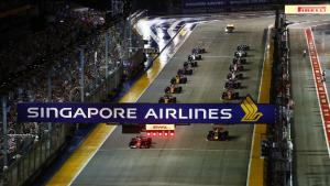 Non-stop action and stellar entertainment at the Singapore Grand Prix!