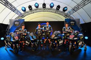 Sky Racing Team VR46 reveals Moto2, Moto3 colours