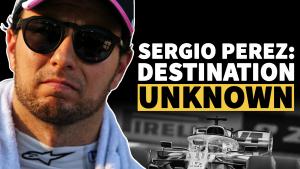 Video F1: Tujuan tidak diketahui untuk Sergio Perez?
