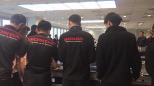 Toro Rosso reveals Honda power unit firing up
