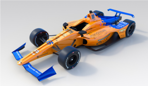 McLaren unveils Alonso's car livery for Indy 500