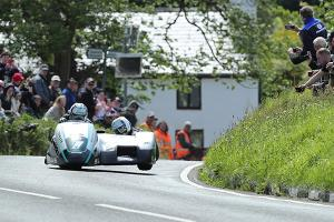 Birchall brothers storm first Isle of Man TT Sidecar race