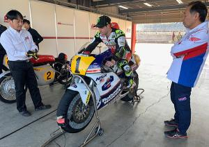 Crutchlow: Real privilege to ride an NSR