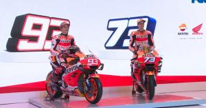 Marquez brothers unveil 2020 Repsol Honda livery