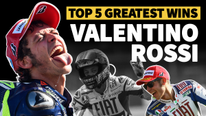 Video: Valentino Rossi 'Five of the best'