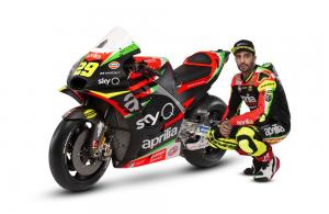 FIRST LOOK: Aprilia presents 2019 MotoGP livery