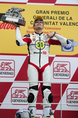 Pirro, Valencia Moto2 Race 2011