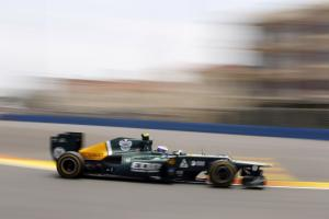 22.06.2012- Free Practice 2, Vitaly Petrov (RUS) Caterham F1 Team CT01
