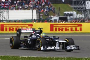 08.07.2012- Race, Bruno Senna (BRA) Williams F1 Team FW34