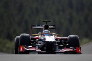 De la Rosa escapes worst of Spa crash