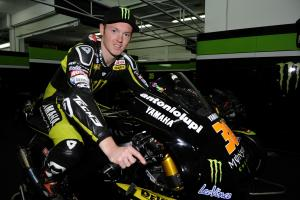 Smith, Valencia MotoGP Test 2012