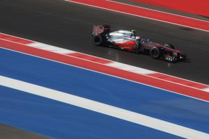 Hamilton wants FIA to clean up COTA grid