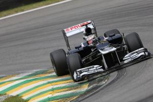 24.11.2012- Free Practice 3, Pastor Maldonado (VEN) Williams F1 Team FW34