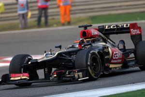 14.04.2013- Race, Kimi Raikkonen (FIN) Lotus F1 Team E21 2nd position