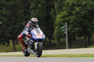 Lorenzo, Braking, Italian MotoGP 2013