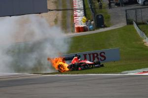 F1 Pictures: When things didn't go to plan