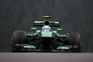 23.08.2013- Free Practice 1, Giedo Van der Garde (NED), Caterham F1 Team CT03