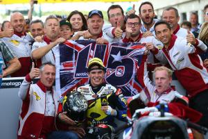 British Moto2: Great Scott gives champion's ride, Espargaro struggles