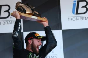 Tom Sykes wins 2013 World Superbike Championship!