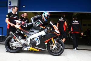 Melandri, end of season test, Jerez 2013