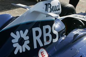 RBS logos on the Williams