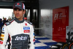 Sutil: I don't even have a water bottle...