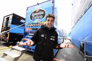 Moto2: Marquez needs track time after Almeria crash