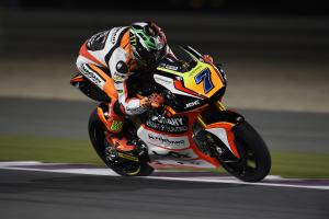 Moto2: Baldassarri tries again after double shoulder dislocation