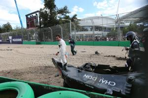 Alonso's Melbourne smash peaked at 46G, FIA confirms