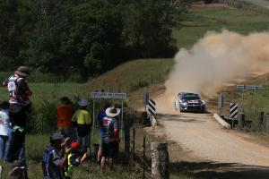 Rally Australia - Leaderboard after SS21 (Top 15)