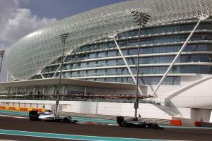 Abu Dhabi Grand Prix - Starting grid