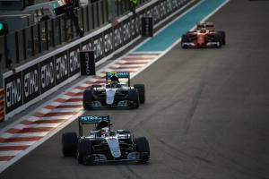 Abu Dhabi Grand Prix - Race results