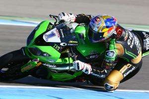 Sofuoglu leads at rainy Magny-Cours as Mahias falls