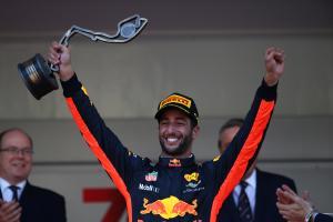 28.05.2017 - Race, 3rd place Daniel Ricciardo (AUS) Red Bull Racing RB13