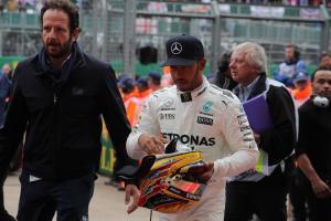 Hamilton cleared over Grosjean block, keeps Silverstone pole