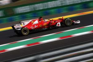 Vettel relishing prospect of six-way Hungarian GP fight