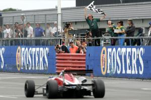Marshall wins epic at drying Silverstone.