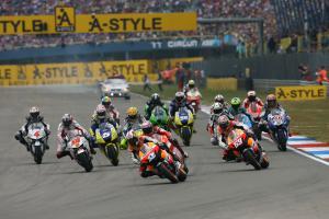 Start, Dutch MotoGP 2008