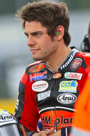 Oulton bad luck strikes again for Crutchlow.