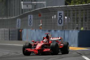 Kimi Raikkonen (FIN) Ferrari F2008, Valencia F1 Grand Prix, 22nd-24th, August 2008