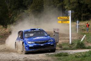 Petter Solberg (N) Philip Mills (GB) Subaru Impreza WRC 2008