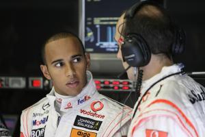 Lewis Hamilton (GBR) McLaren MP4-23, Belgian F1 Grand Prix, Spa Francorchamps, 5-7th, September, 200